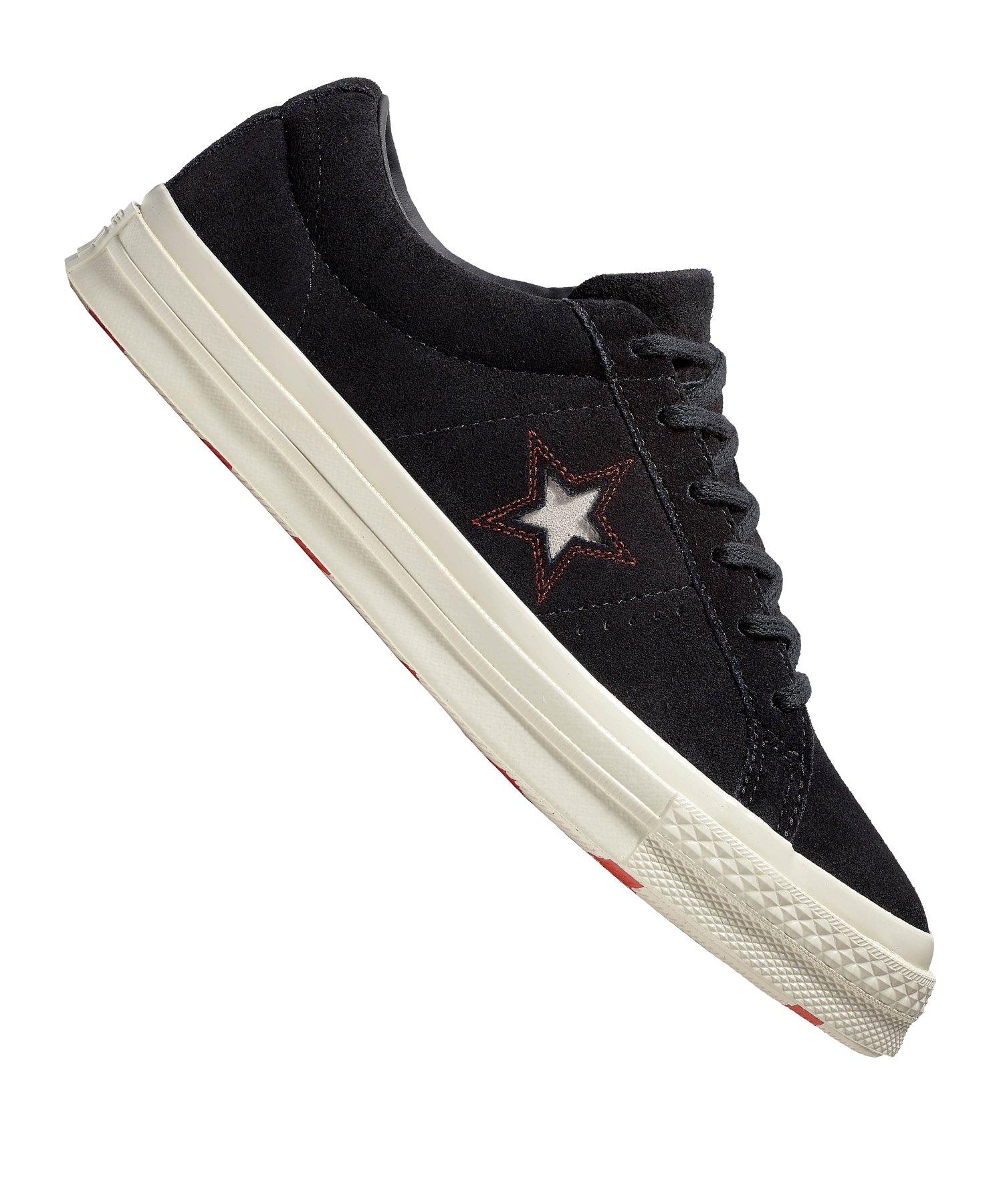 Converse One Star OX Sneaker Damen Schwarz F001