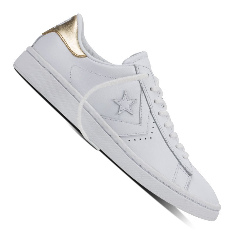 converse pl lp sneaker damen weiss gold sneaker damen. Black Bedroom Furniture Sets. Home Design Ideas