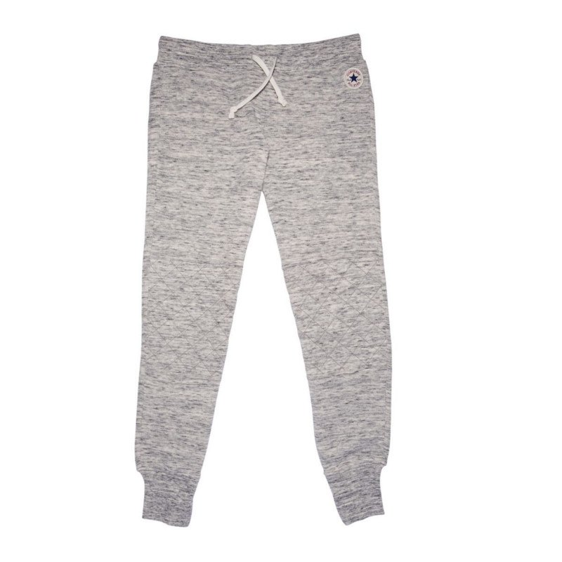 converse quilted pant jogginghose damen grau f080 hose lang jogginghose freizeit. Black Bedroom Furniture Sets. Home Design Ideas