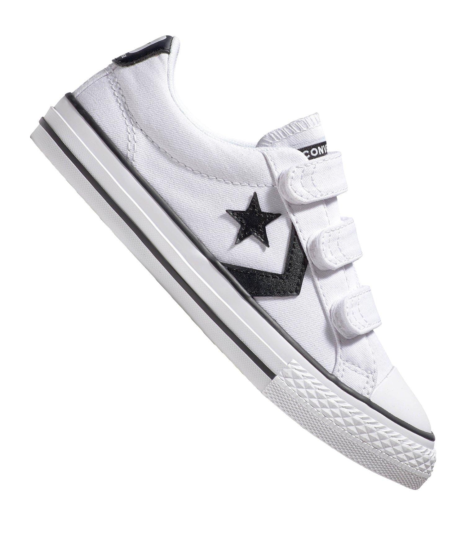 Converse Star Player 3V OX Sneaker Kids Grau F102