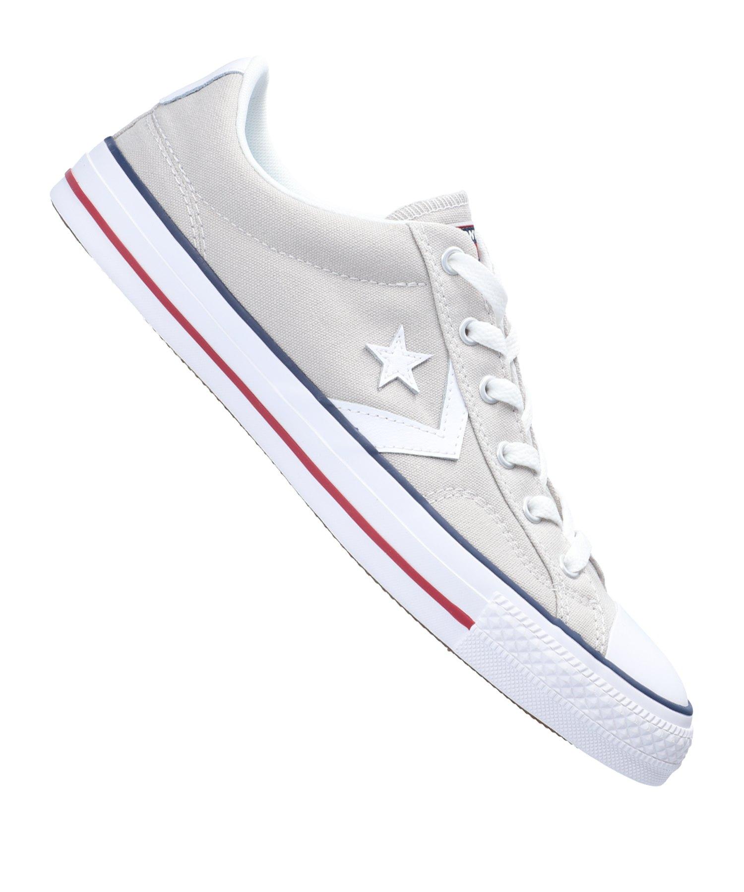 Converse Star Player OX Sneaker Grau F050