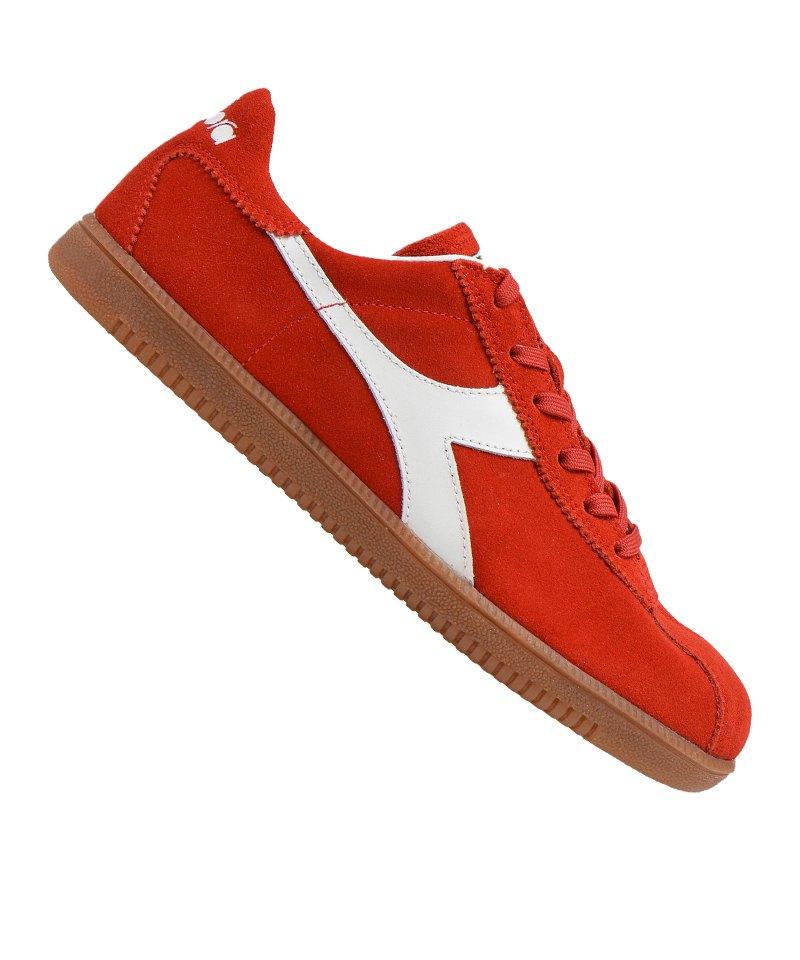 new style 71c49 d5174 Diadora Tokyo Sneaker Rot Weiss C4248