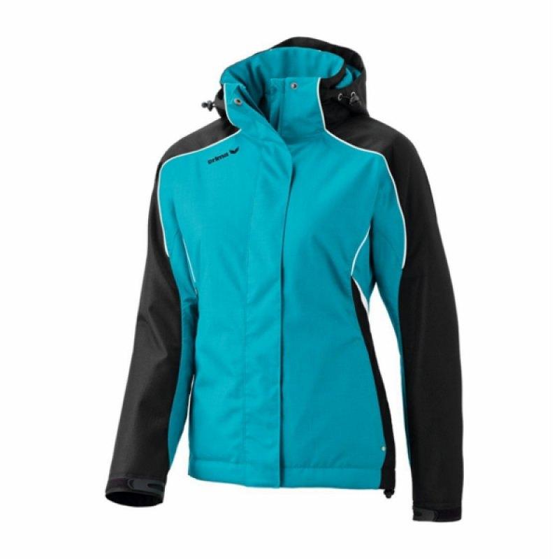 erima winterjacke style active wear damen petrol blau. Black Bedroom Furniture Sets. Home Design Ideas