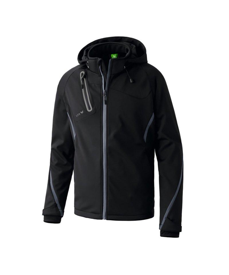 Wear Softshell Jacke Erima Schwarz Active Function KcT1JFl