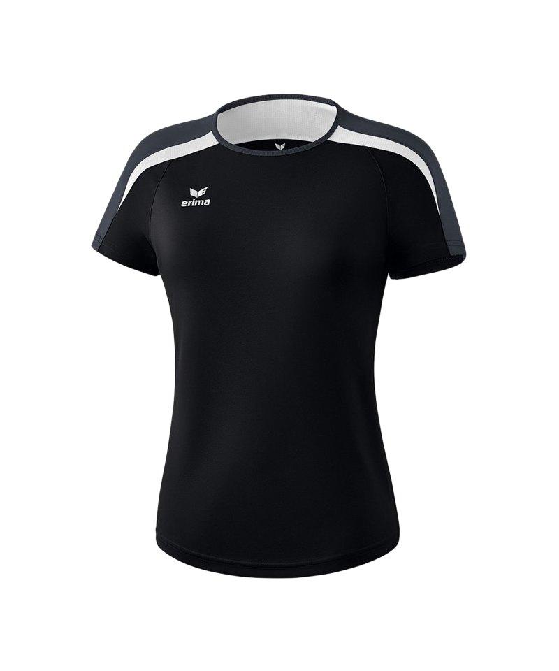 271a5dacc12c6 Erima Liga 2.0 T-Shirt Damen Schwarz Weiss Grau | Sportzubehör ...