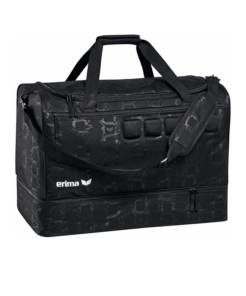 tolle Preise viele möglichkeiten verfügbar Erima 5-Cubes Tasche mit Bodenfach Gr. S Schwarz