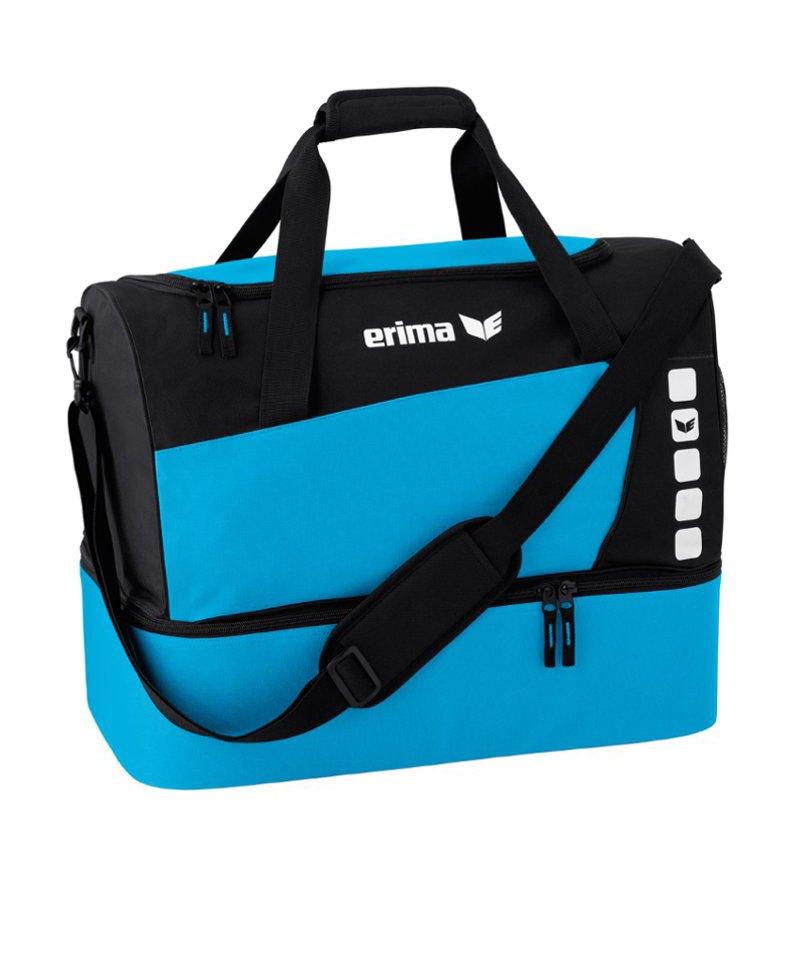 7b45a8d3e683c Erima Sporttasche mit Bodenfach Club 5 Blau Gr. S - blau