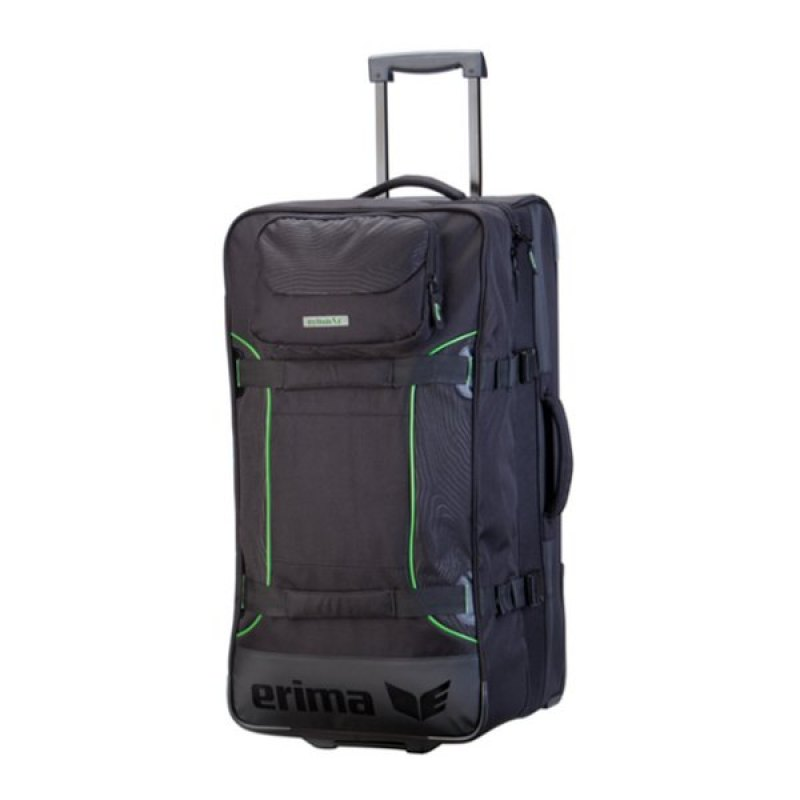 erima sporttasche mit rollen travel schwarz gr s. Black Bedroom Furniture Sets. Home Design Ideas