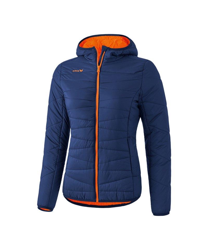 finest selection 7c97e 76674 Erima Steppjacke Damen Blau Orange