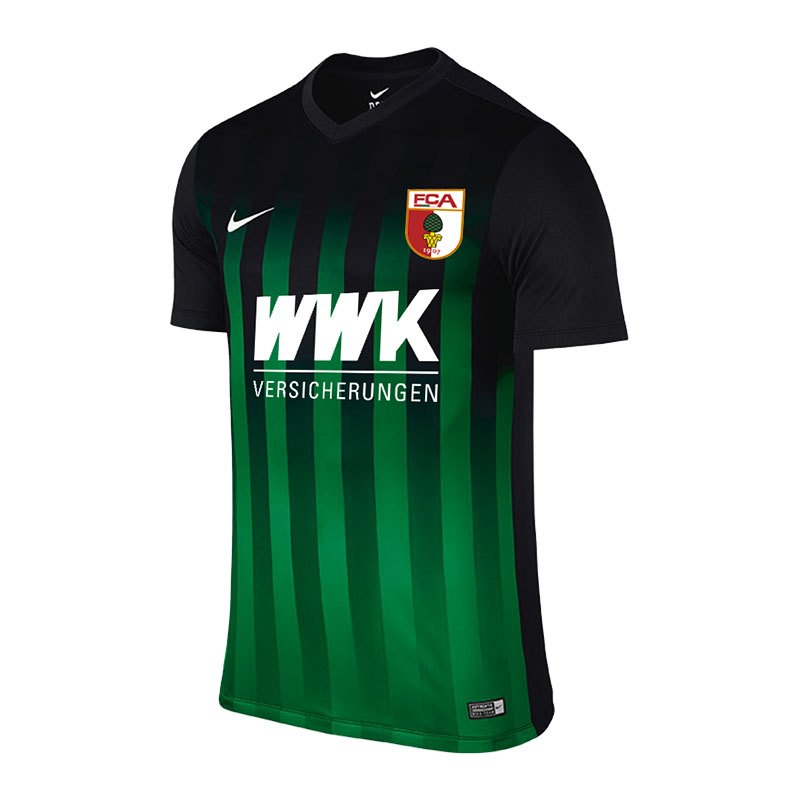 Nike FC Augsburg Trikot Away 2016/2017 F013 - schwarz