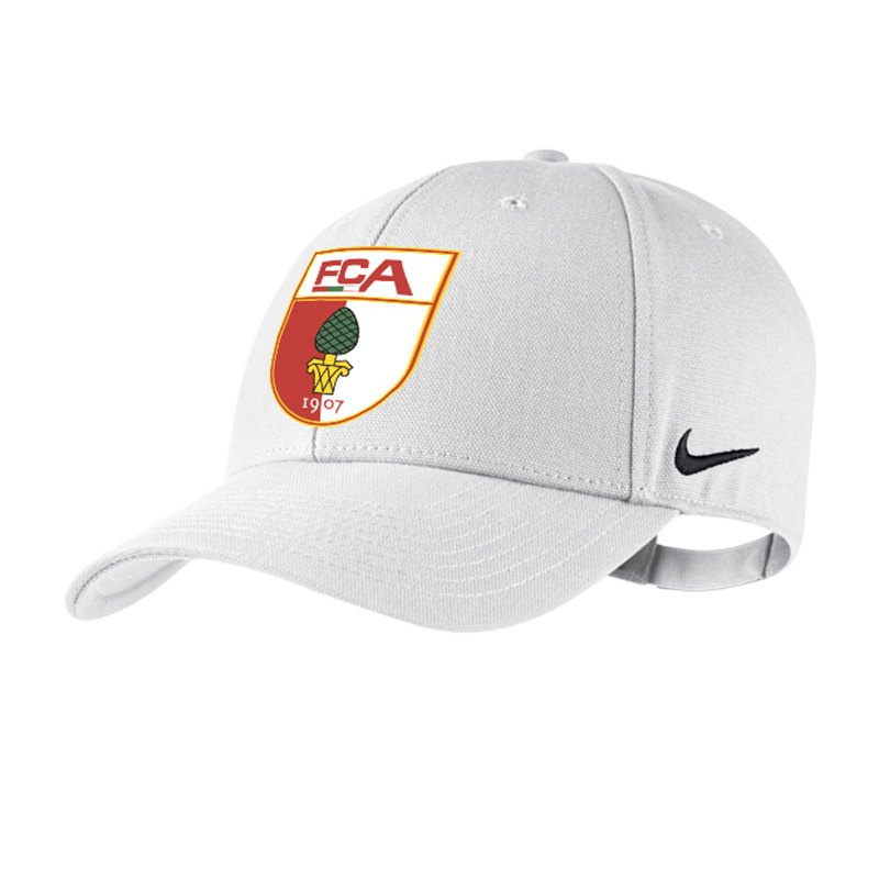 nike fc augsburg cap weiss f156 kappe europa league. Black Bedroom Furniture Sets. Home Design Ideas