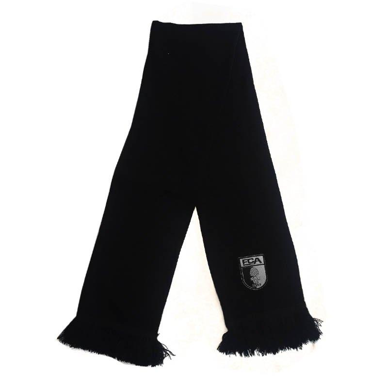 FC Augsburg Fanschal VIP Schwarz Silber - schwarz