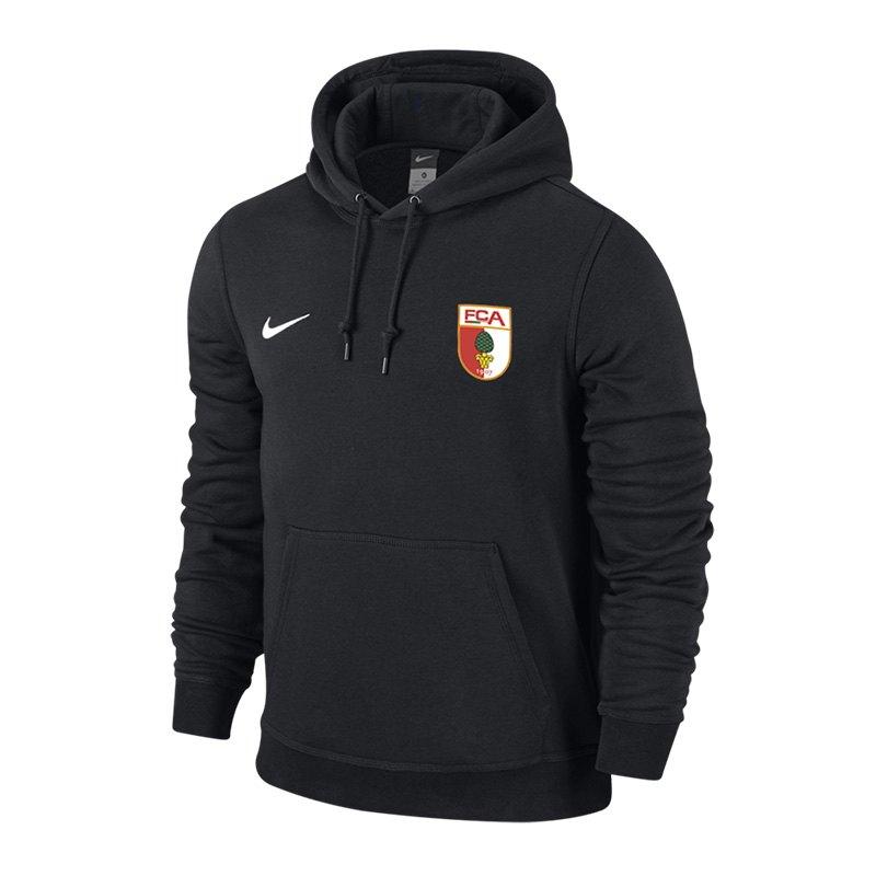 Nike FC Augsburg Hoody 2015/2016 Schwarz F010 - schwarz