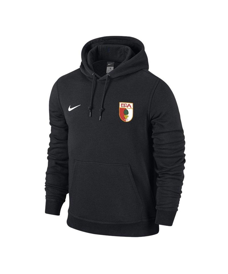 Nike FC Augsburg Kapuzensweatshirt Kids F010 - schwarz