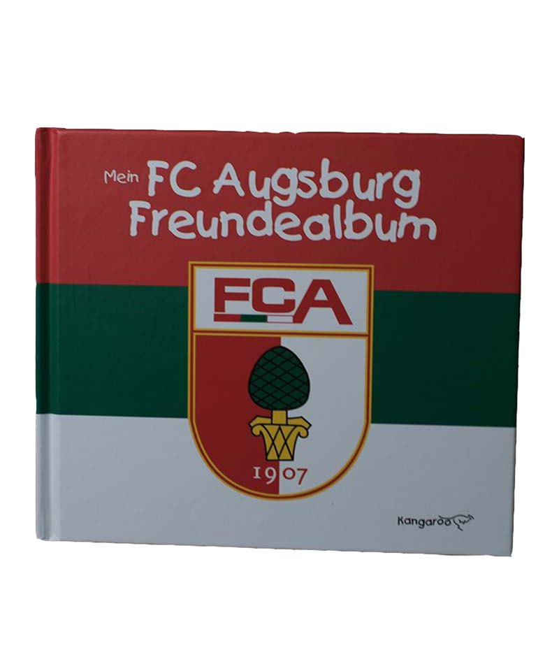 FC Augsburg Mein Fussball-Freundealbum - rot