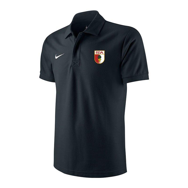 Nike FC Augsburg Poloshirt 2017/2018 Schwarz F010 - schwarz