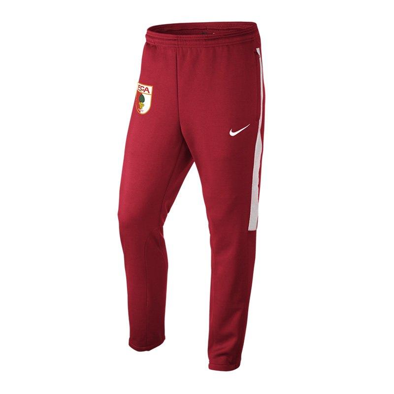 Nike FC Augsburg Trainingshose Rot F657 - rot