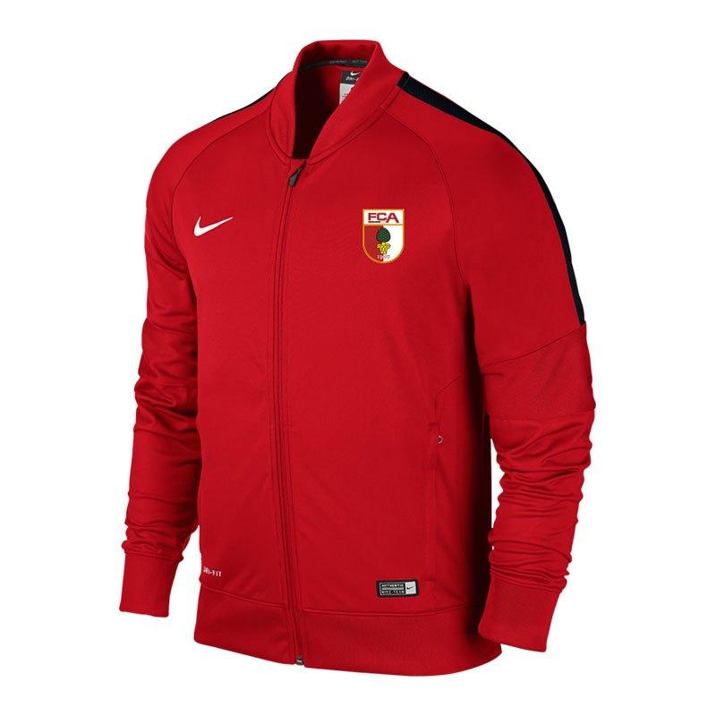 Nike FC Augsburg Trainingsjacke Kids 16/17 F657 - rot