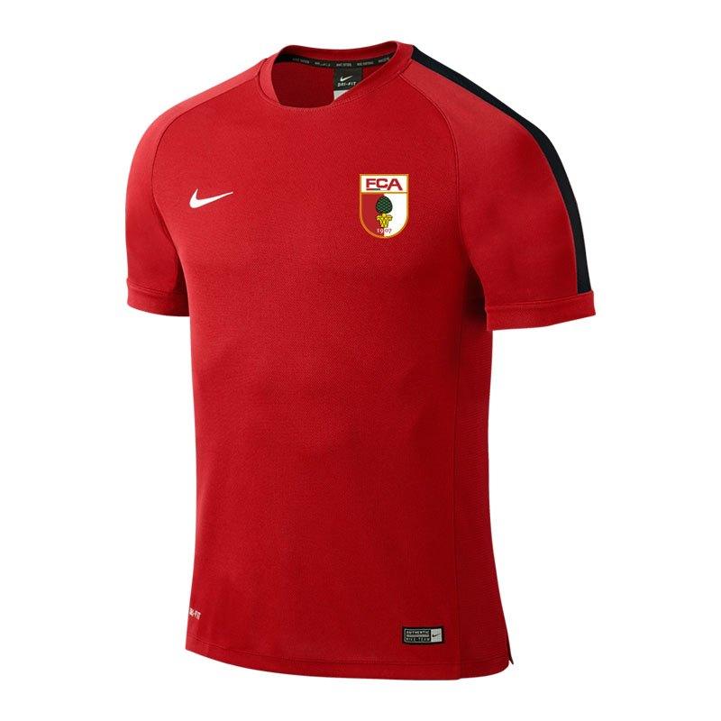 Nike FC Augsburg Trainingsshirt Kids 16/17 F657 - rot