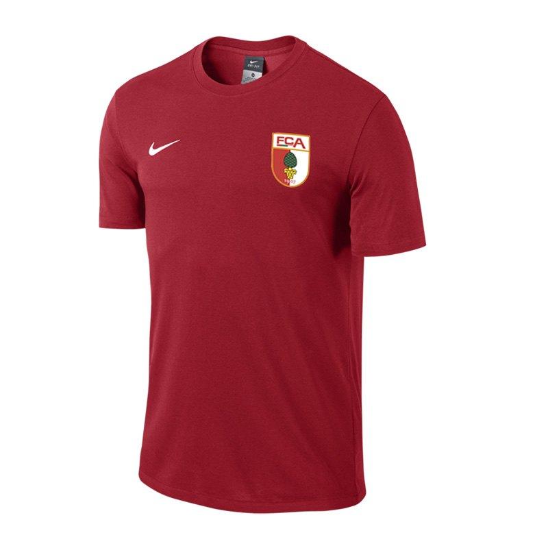Nike FC Augsburg T-Shirt Rot F657 - rot