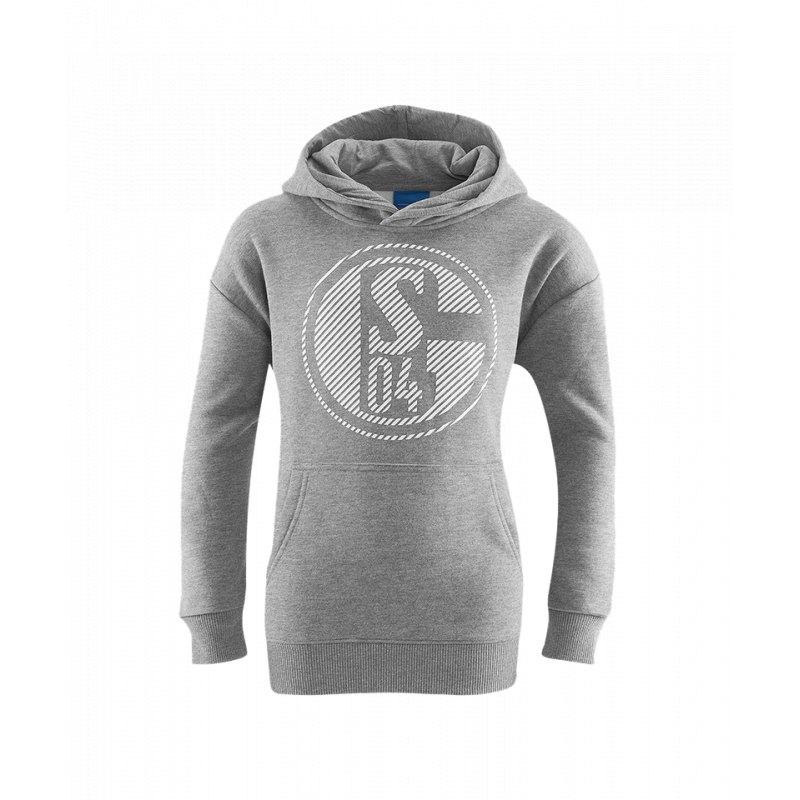 FC Schalke 04 Kapuzensweatshirt Classic Grau