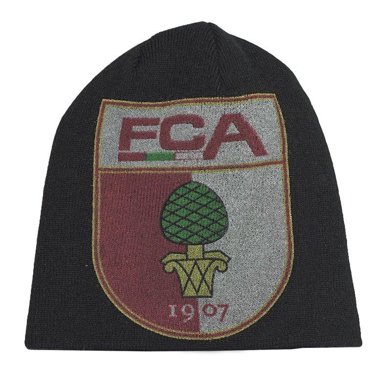 FC Augsburg Beanie Aquis Schwarz - schwarz