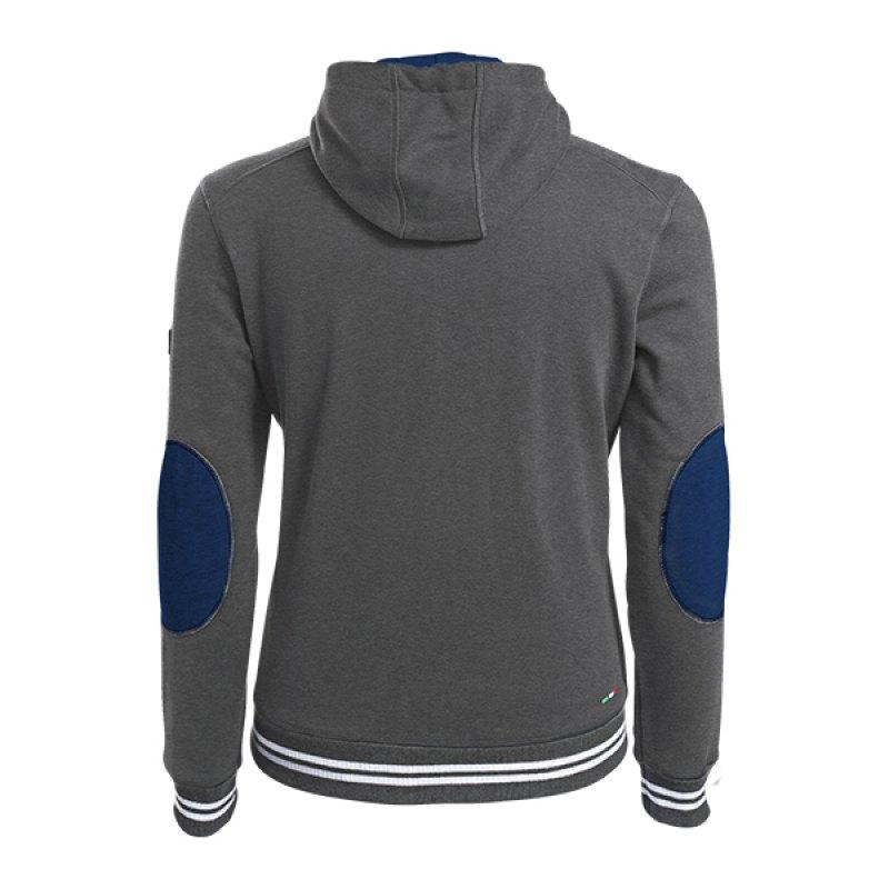 fila kapuzensweatshirt hoody grau fh26 hoddie pullover herren casual. Black Bedroom Furniture Sets. Home Design Ideas