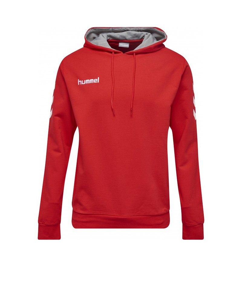 designer fashion 14cdc e4dea Hummel Core Cotton Hoodie Rot F3062