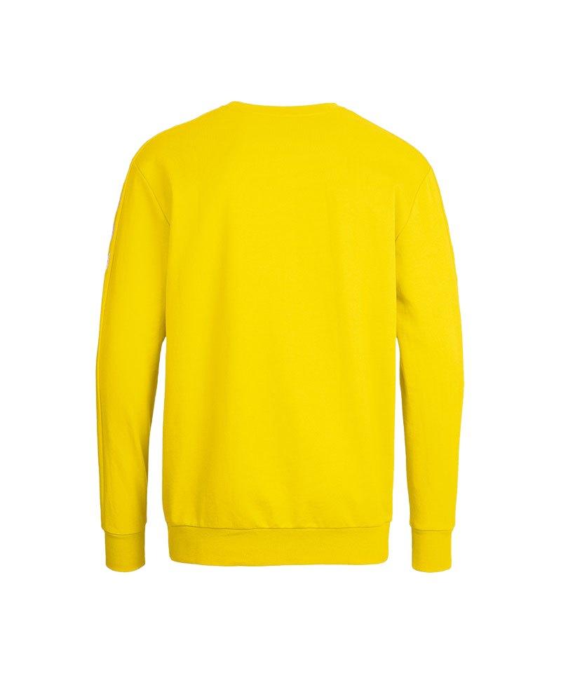 hummel core sweatshirt gelb f5001 teamsport pullover. Black Bedroom Furniture Sets. Home Design Ideas