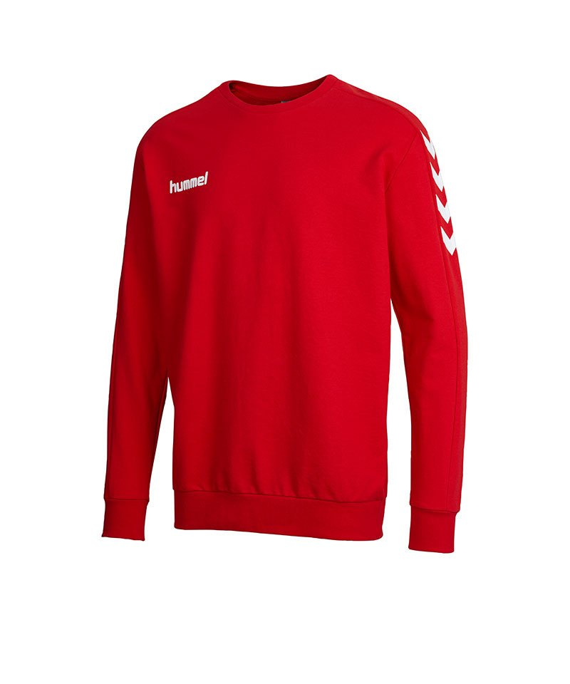 hummel core sweatshirt rot f3062 teamsport pullover. Black Bedroom Furniture Sets. Home Design Ideas