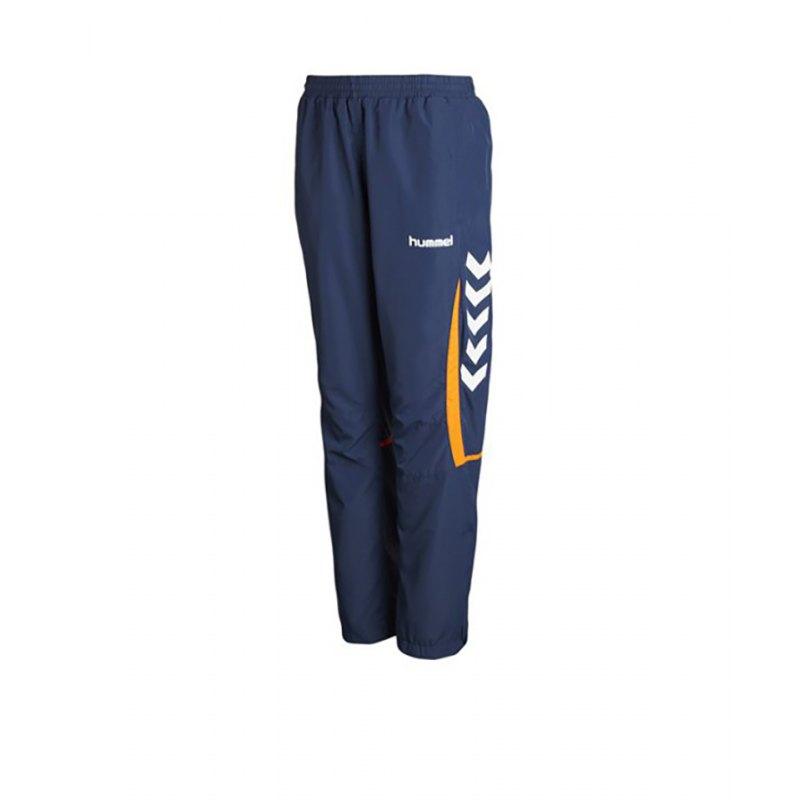 huge discount 41805 6f77e Hummel Jogginghose Team Player Damen Blau F7642