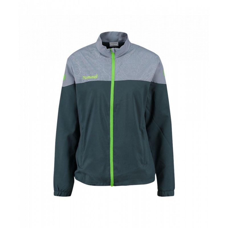Jacket Hummel Grau Damen Jacke F1617 Sirius Trainingsjacke Micro qwvPO