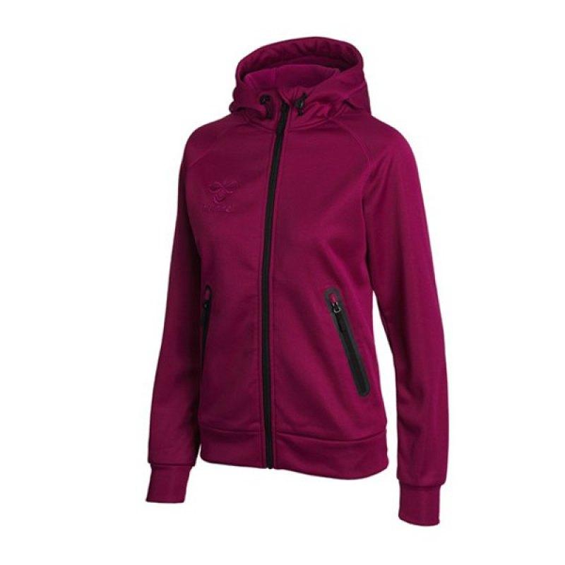 hummel zip hoodie basic wmns blau f7655 hoody. Black Bedroom Furniture Sets. Home Design Ideas