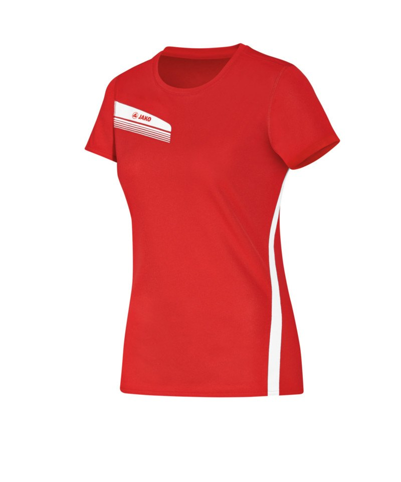 f6154b07a9e7ff Jako Athletico T-Shirt Running Damen Rot F01 - rot
