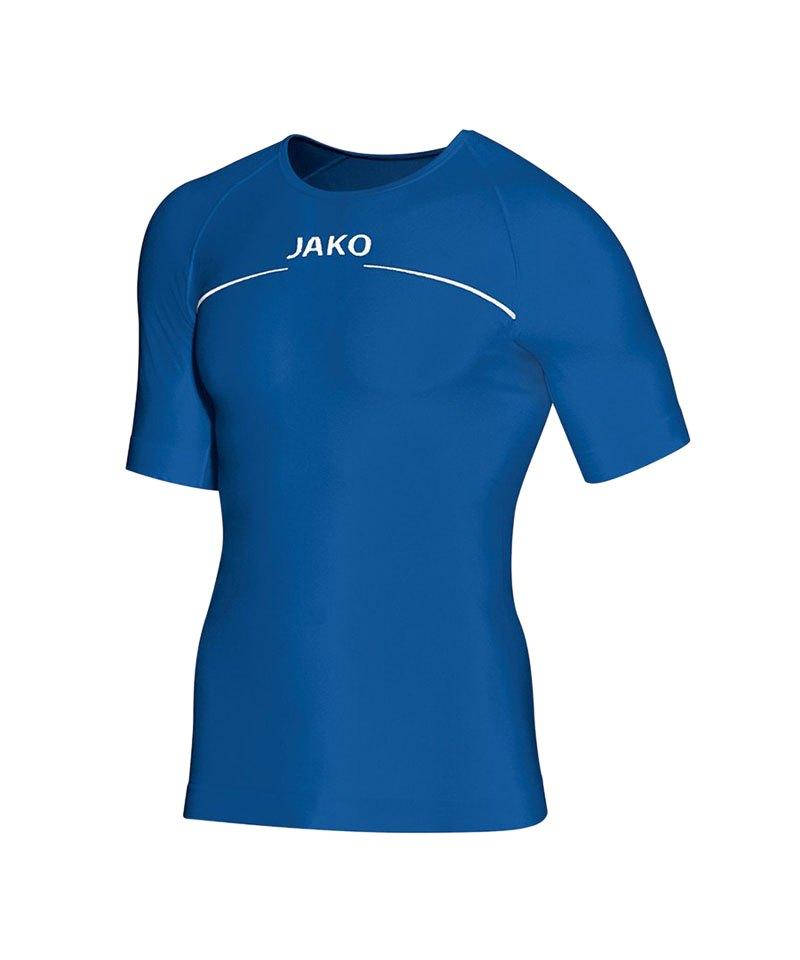 Jako Comfort T Shirt Unterziehshirt Blau F04