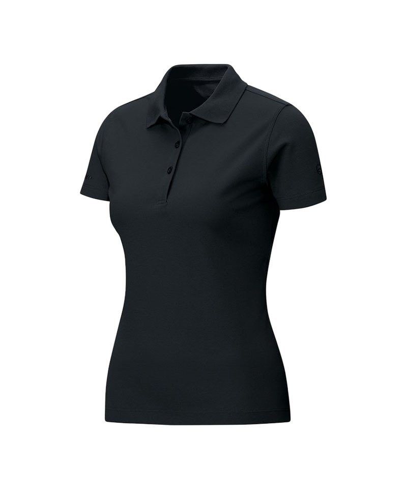 jako classic poloshirt damen schwarz f08 teamsport ausstattung shirt. Black Bedroom Furniture Sets. Home Design Ideas