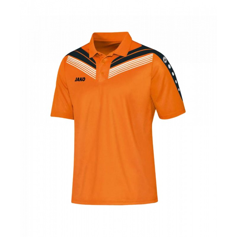 jako pro polo poloshirt kids orange schwarz f19 t shirt. Black Bedroom Furniture Sets. Home Design Ideas