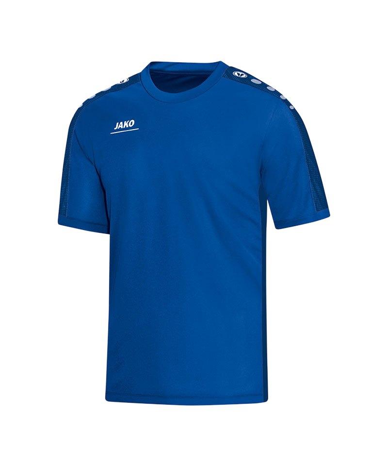 Jako Striker T-Shirt Kids Blau F04   Teamsport   Ausstattung 8bf1cf5dd5