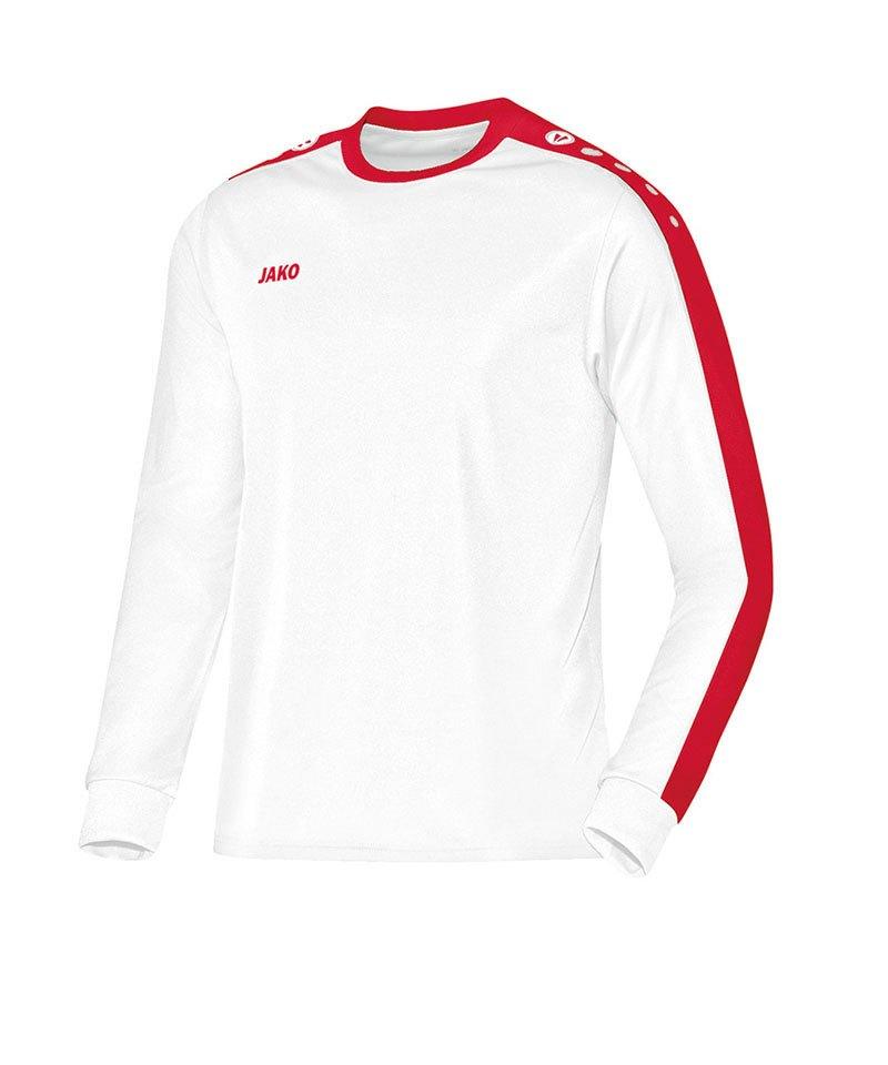 c92101b45f Jako Striker Trikot langarm Weiss F10 | Jersey | Teamsport ...