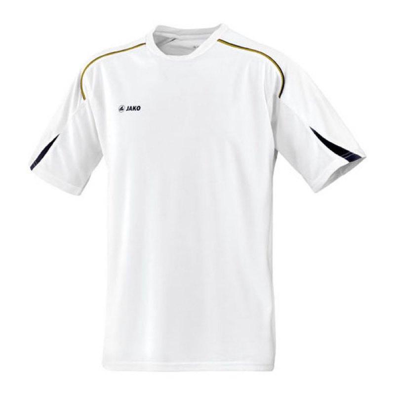 Jako T-Shirt Passion Damen Weiss Schwarz Gold F00 - weiss