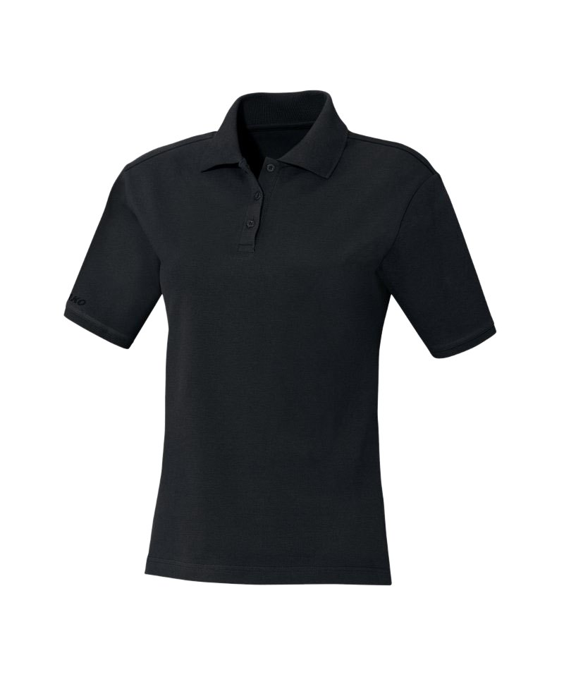 jako team polo poloshirt wmns schwarz f08 teamsport vereinsbekleidung shirt bekleidung. Black Bedroom Furniture Sets. Home Design Ideas