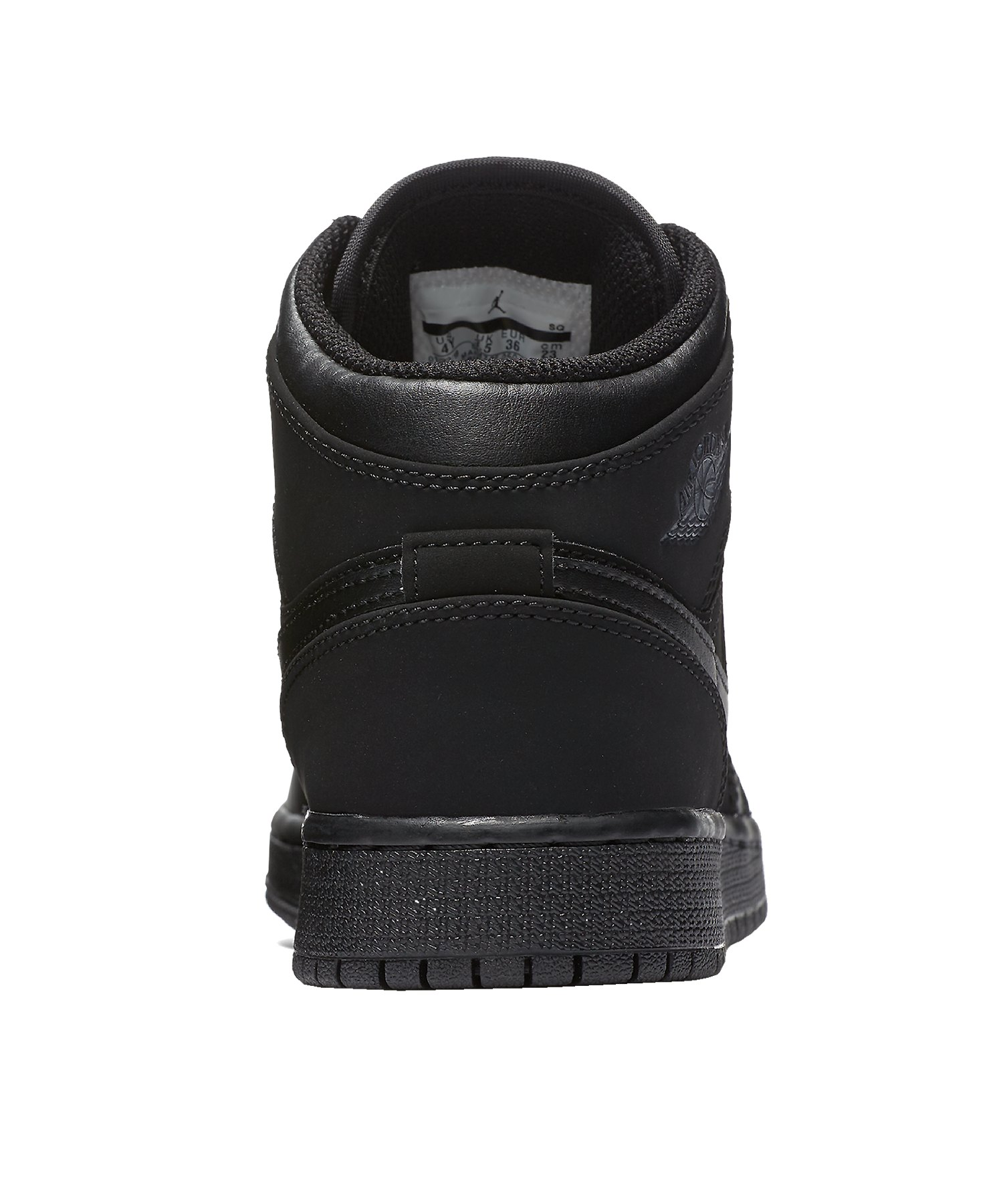 half off 60562 dac8d ... Jordan 1 Mid Sneaker Kids Schwarz Grau F050 - schwarz ...