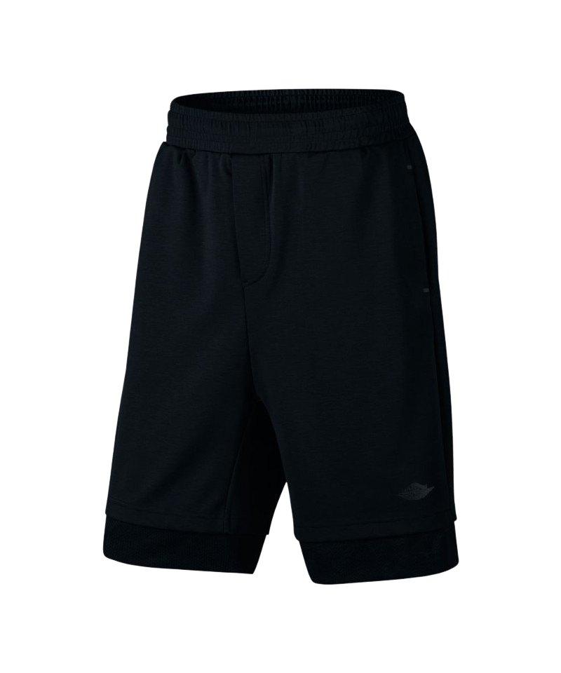 jordan 23 lux short hose kurz schwarz f010 basketball. Black Bedroom Furniture Sets. Home Design Ideas