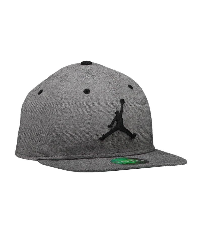 a49c89942c65a9 Jordan 23 Lux Snapback Cap Schwarz F010 - Grau