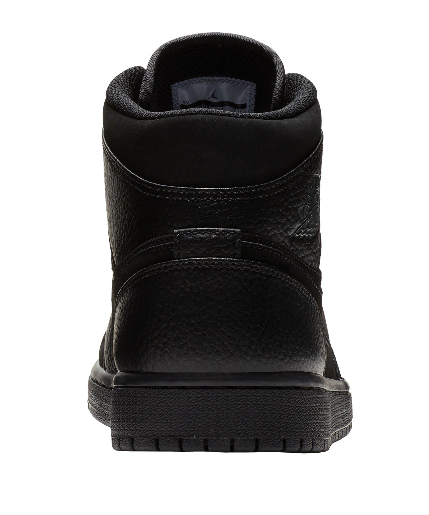 buy online bb5ec 6aa88 ... Jordan Air 1 Mid Sneaker Schwarz F064 - schwarz ...