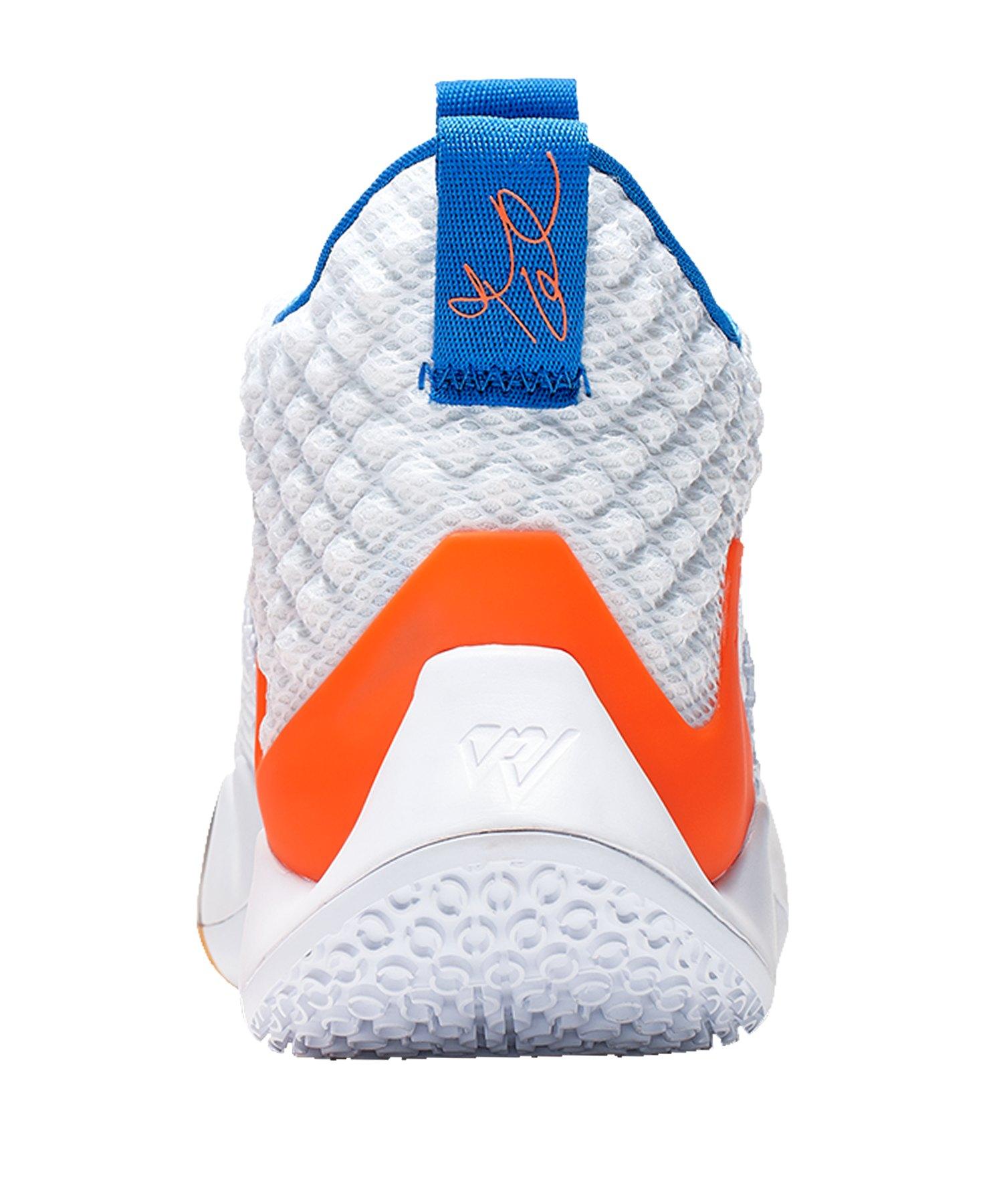 info for 8fbb0 bd84a ... Jordan Why Not Zer0.2 Sneaker Weiss Rot Blau F100 - weiss ...