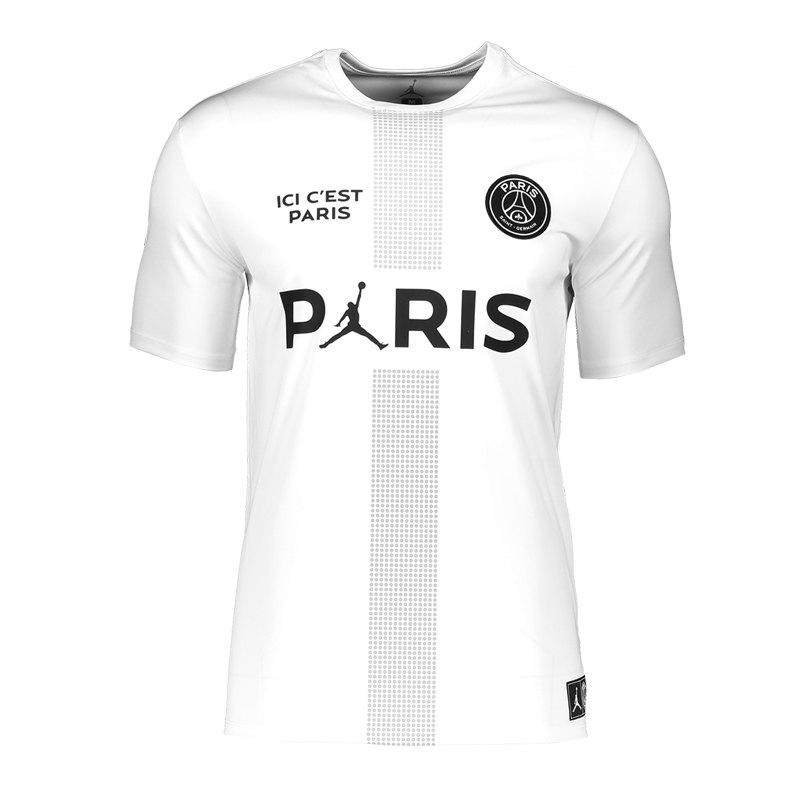 best choice low price hot product Jordan X PSG Jersey Weiss F100