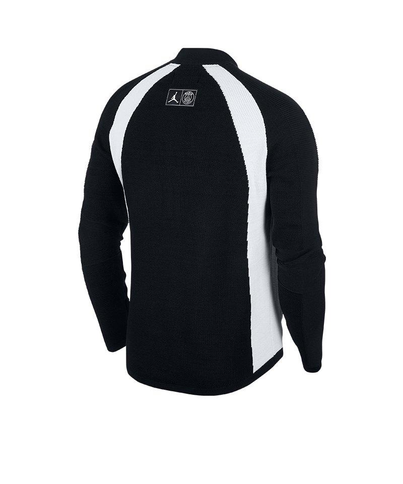 huge discount 8514f 30164 ... Jordan X PSG Flight Knit Fullzip Jacke F010 - schwarz ...