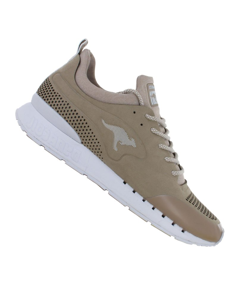 huge sale 10a80 88a16 KangaROOS Coil Semi Sneaker Braun Weiss F120