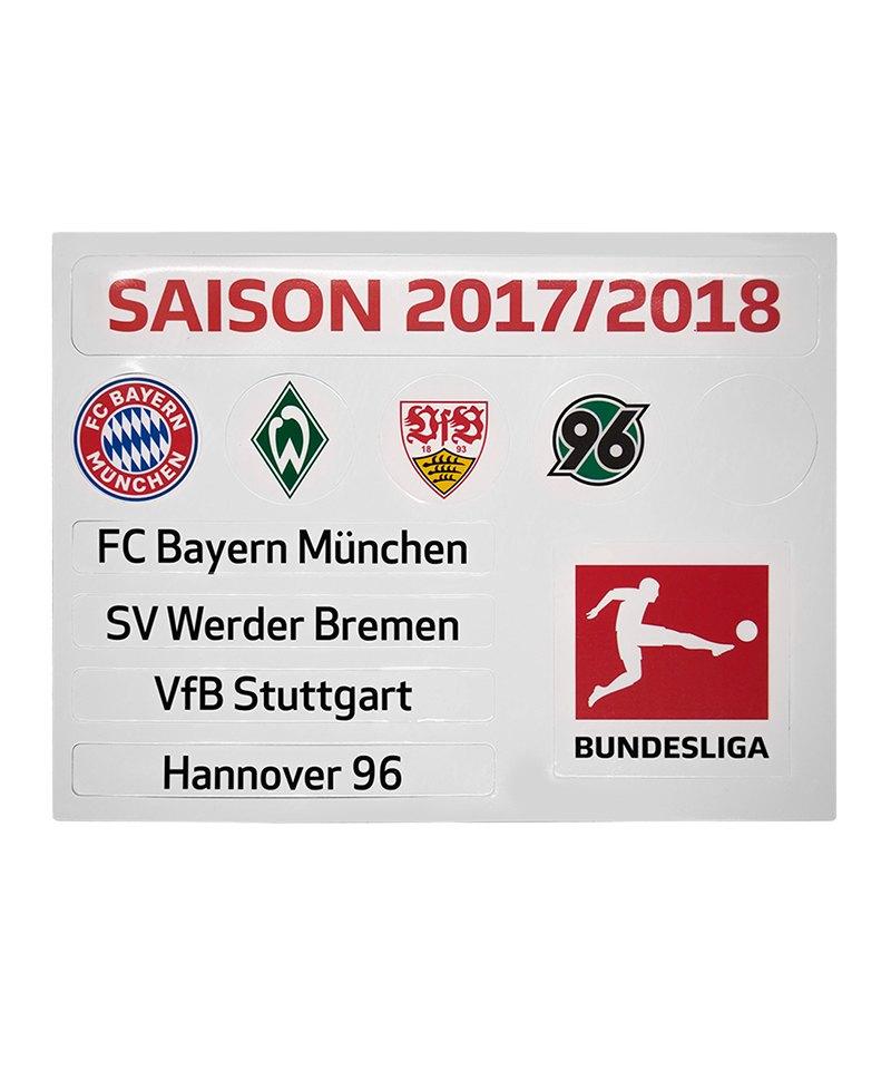 Magnettabelle Update-Set Bundesliga Saison 2019-2020 DFL Deutsche Fussball Liga 1